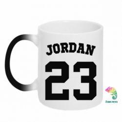 Кружка-хамелеон Джордан 23 - FatLine