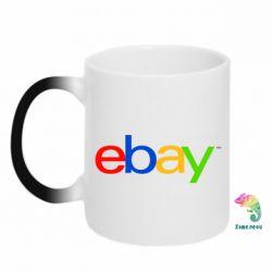 Кружка-хамелеон Ebay - FatLine
