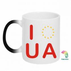 Кружка-хамелеон Euro UA - FatLine