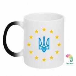 Кружка-хамелеон ЕвроУкраїна - FatLine