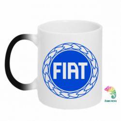 Кружка-хамелеон Fiat logo - FatLine