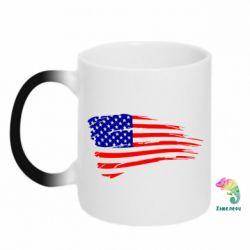 Кружка-хамелеон Флаг США - FatLine