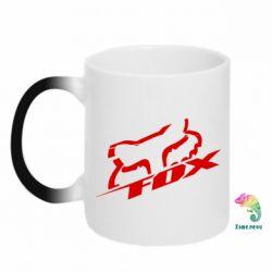 Кружка-хамелеон FOX Racing - FatLine