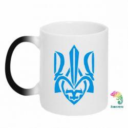 Кружка-хамелеон Гарний герб України - FatLine