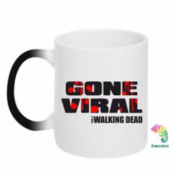 Кружка-хамелеон Gone viral (Walking dead) - FatLine
