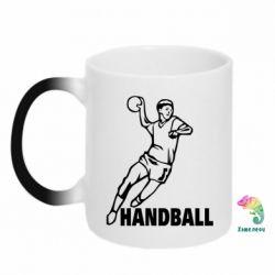 Кружка-хамелеон Handball - FatLine