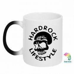 Кружка-хамелеон Hardrock lifestyle - FatLine