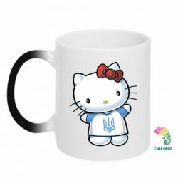 Кружка-хамелеон Hello Kitty UA - FatLine