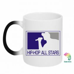 Кружка-хамелеон Hip-hop all stars - FatLine