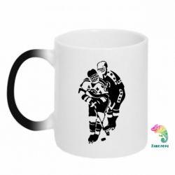 Кружка-хамелеон Хоккеисты - FatLine