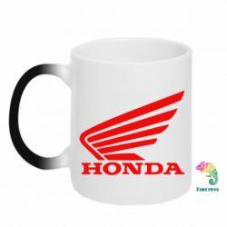 Кружка-хамелеон Honda - FatLine