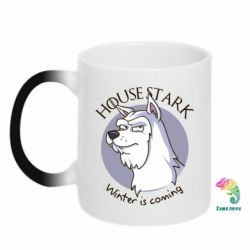 "Кружка-хамелеон House Stark ""Winter is Coming"""