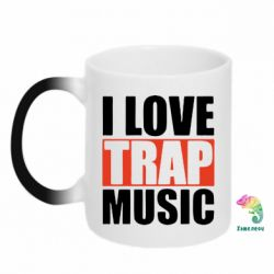 Кружка-хамелеон I love TRAP Music - FatLine