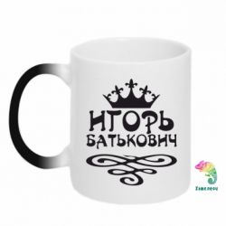 Кружка-хамелеон Игорь Батькович - FatLine