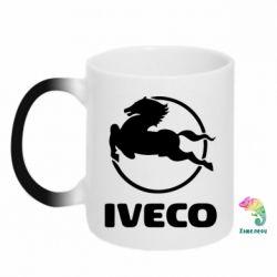Кружка-хамелеон IVECO