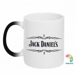 Кружка-хамелеон Jack Daniel's Logo - FatLine