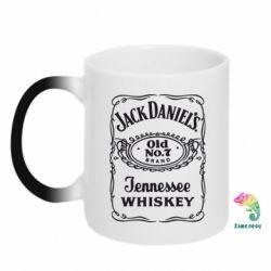 Кружка-хамелеон Jack Daniel's Whiskey - FatLine