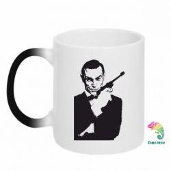 Кружка-хамелеон James Bond - FatLine