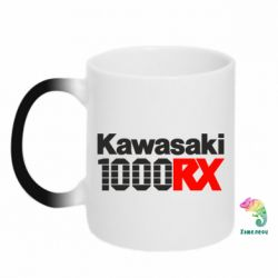 Кружка-хамелеон Kawasaki 1000RX - FatLine