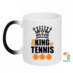 Кружка-хамелеон King of Tennis