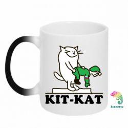 Кружка-хамелеон Kit-Kat - FatLine