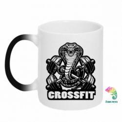Кружка-хамелеон Кобра CrossFit - FatLine