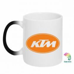 Кружка-хамелеон KTM - FatLine