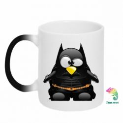 Кружка-хамелеон Linux+Batman - FatLine