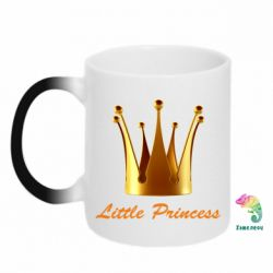 Кружка-хамелеон Little Princess - FatLine