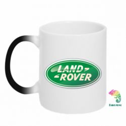 Кружка-хамелеон Логотип Land Rover - FatLine