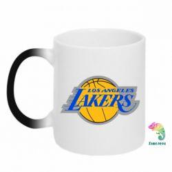 Кружка-хамелеон Los Angeles Lakers - FatLine