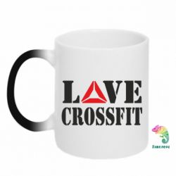 Кружка-хамелеон Love CrossFit - FatLine