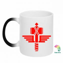 Кружка-хамелеон Manowar Logo - FatLine