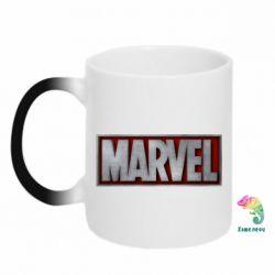 Кружка-хамелеон Marvel 3D - FatLine