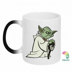 Кружка-хамелеон Master Yoda - FatLine