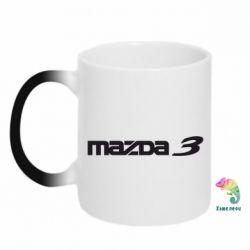 Кружка-хамелеон Mazda 3 - FatLine