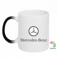 Кружка-хамелеон Mercedes-Benz Logo - FatLine