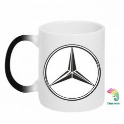 Кружка-хамелеон Mercedes - FatLine