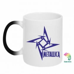Кружка-хамелеон Metallica Logotype - FatLine