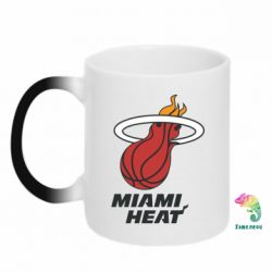 Кружка-хамелеон Miami Heat - FatLine