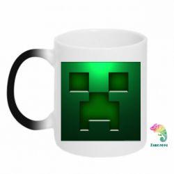 Кружка-хамелеон Minecraft Face - FatLine