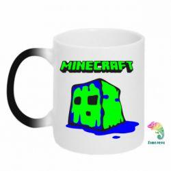 Кружка-хамелеон Minecraft Head - FatLine