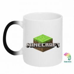 Кружка-хамелеон Minecraft Land - FatLine