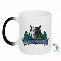 Кружка-хамелеон Minnesota Timberwolves - FatLine