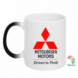 Кружка-хамелеон Mitsubishi Motors - FatLine