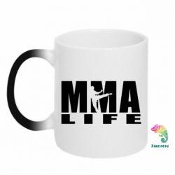 Кружка-хамелеон MMA Life - FatLine