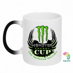Кружка-хамелеон Monster Energy Cup