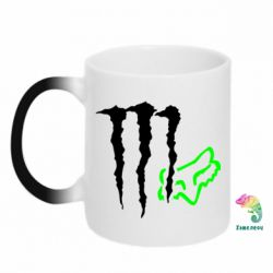 Кружка-хамелеон Monster Energy FoX - FatLine