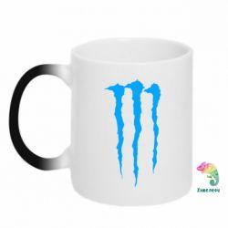 Кружка-хамелеон Monster Energy Stripes 2 - FatLine