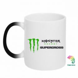 Кружка-хамелеон Monster Energy Supercross - FatLine
